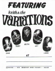 Keith and The Variations Poster